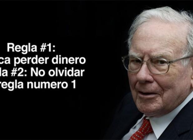Warren Buffett regla número 1 no perder dinero